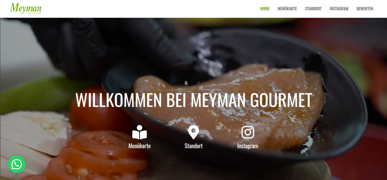 Meyman Gourmet Banner